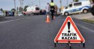 Alanya'da motosikletin çarptığı kadın ağır yaralandı