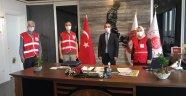 Alanya Kızılay Başsavcı Kesgin'i ziyaret etti