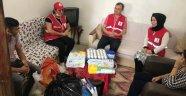 Alanya Kızılay, o aileye umut oldu