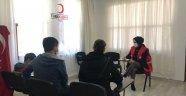 Alanya Kızılay'dan psikolojik destek