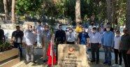 Alanya MHP'den şehitlerimize bayram ziyareti