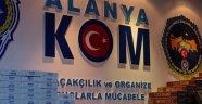 ALANYA POLİSİNDE 100 BİNLİK OPERASYON