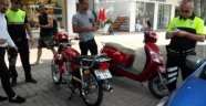 Alanya Polisi'nden motosiklet denetimi
