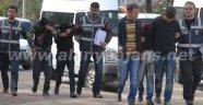 ALANYA'DA 4 HIRSIZ POLİSE YAKALANDI