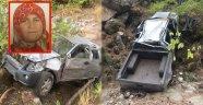 Alanya'da araç uçuruma yuvarlandı: 1 ölü