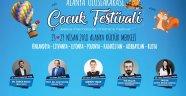 Alanya'da Çocuk Festivali Heyecanı