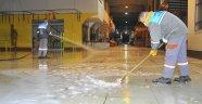 Alanya'da dezenfekte seferberliği