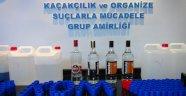 Alanya'da içki operasyonu