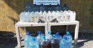 Alanya'da içki üretilen otelin sahibi ve müdürü tutuklandı