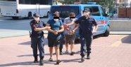 Alanya'da kablo hırsızları yakalandı