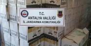 Alanya'da Kaçak İçki Operasyonu