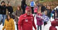 Alanya'da kar eğlencesi sınır tanımıyor