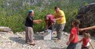 Alanya'da keklikler doğaya salındı
