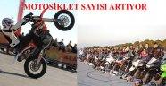 ALANYA'DA MOTOSİKELT SAYISI OTOMOBİLE YETİŞTİ