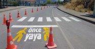 Alanya'da'Önce Yaya' projesi hayata geçti