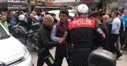 Alanya'da polisten kaçan motosikletli terör estirdi