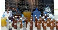 Alanya'da polisten sahte alkol operasyonu