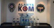 Alanya'da sahte içki operasyonu: 2 tutuklama