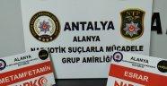 Alanya'da Uyuşturucu Ele Geçirildi