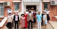Alanya'da yerleşik yabancılardan Kaymakam Ürkmezer'e ziyaret