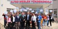 ALTSO MYO'da sertifikalı eğitim