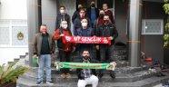 Antalyaspor taraftar grubundan Alanyaspor'a ziyaret