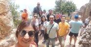 Azeri Gazeteciler Alanya'yı Gezdi