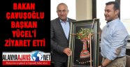 BAKAN ÇAVUŞOĞLU MHP'Lİ BAŞKANI ZİYARET ETTİ