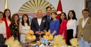 Başkaan Şahin, Kazak Medyasını Konuk Etti