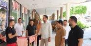 Başkan Toklu'dan esnaf ziyareti