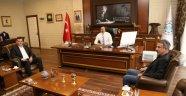 Başkan Türkdoğan'dan Rektör Kalan'a ziyaret