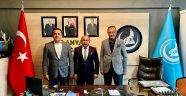 Başkan Uysal'a başarı dilediler