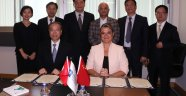 Büyükşehir Çinli heyeti misafir etti