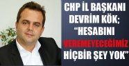 CHP İL TEŞKİLATI BAŞKANI ALANYA'YA GELDİ