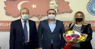 Demirağ'dan Türk Eğitim Sen'e ziyaret