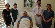 Dev kitle başarılı  ameliyatla alındı