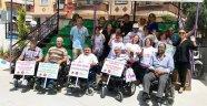 Engelliler Trafik Eğitim Parkı'nı Ziyaret Etti