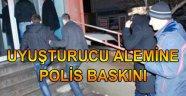 ESRAR ALEMİ POLİS BASKININA TAKILDI