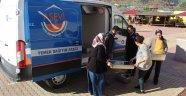 Gazipaşa'daki 3 okula Alanya Aşevi'nden destek