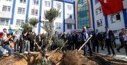 Geleceğe Nefes' için ağaç dikti