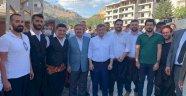 Gelecek Partisi Alanya İlçe Teşkilatı Davutoğlu ile buluştu