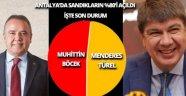 İşte Antalya'daki sonuçlarda son durum