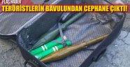 İzmir'deki Saldırıda Teröristlere Ait Bavulda Cephanelik Çıktı