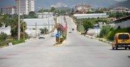Konaklı'da cadde ve kaldırımlar yenileniyor