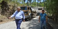 Manavgat Gaziler Mahalle Yolu Yenileniyor