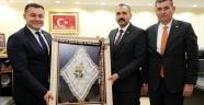 MHP İl Başkanından Yücel'e Destek