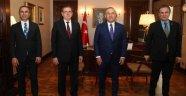MHP'li Yıldız, Bakan Çavuşoğlu ile buluştu