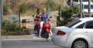 Motosikletliler canını hiçe sayıyor