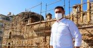Oba Medresesi'nde restorasyon çalışmaları başladı