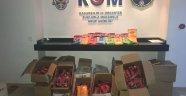 Polis, 334 kilogram kaçak nargile tütünü ele geçirdi